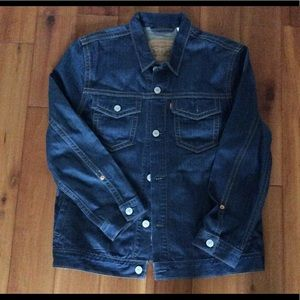 Levi's denim jean trucker jacket size XXL NWOT